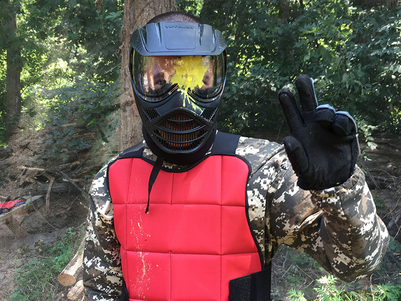 Paintball au parc des bouscaillous